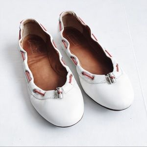 Hunter Dominica Flats Leather Ballet